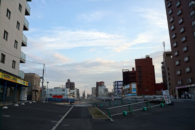 産業道路(放射第17号線) 2019.3.2