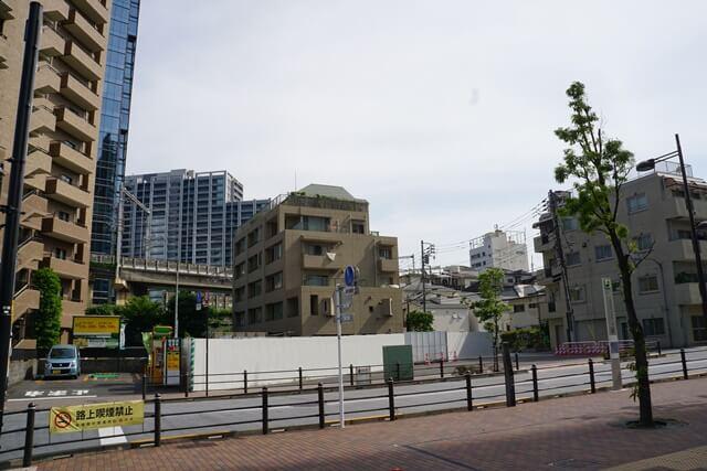 大崎短絡線予定地 2019.5.26