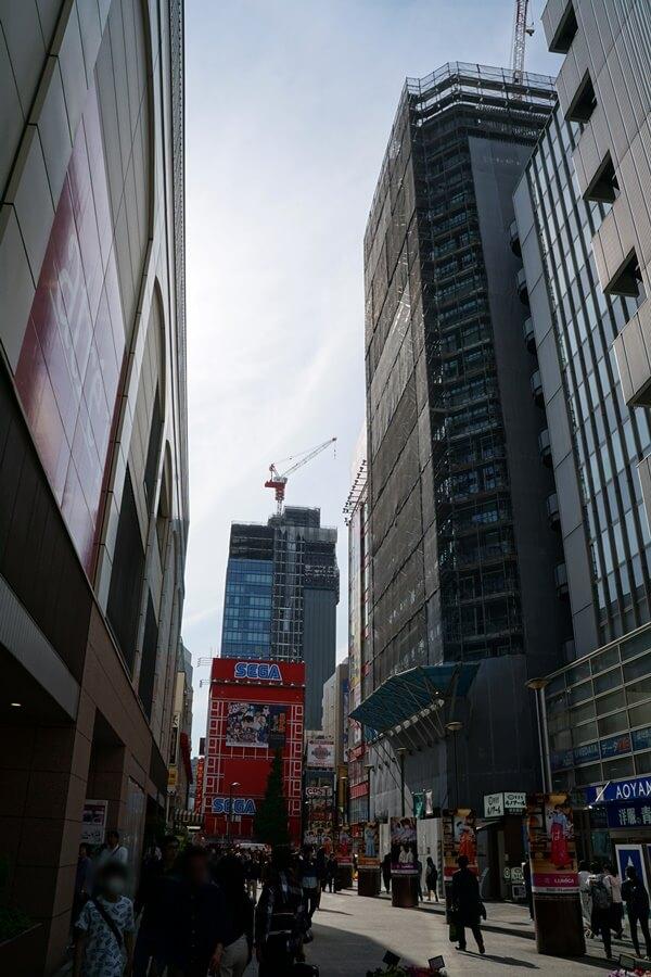 「(仮称)秋葉原プロジェクト新築工事」 2019年5月上旬