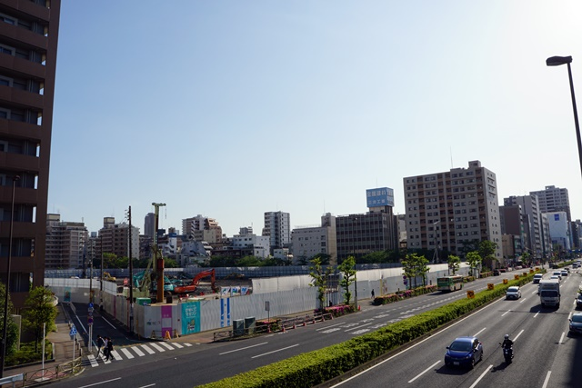 「(仮称)江東区亀戸6丁目計画」 2019年5月上旬