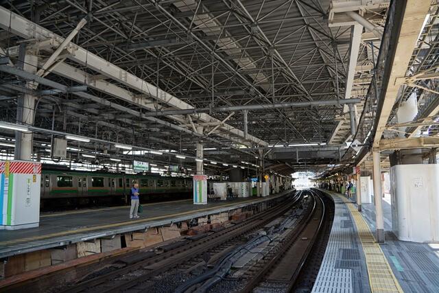 JR新橋駅 2019年5月上旬