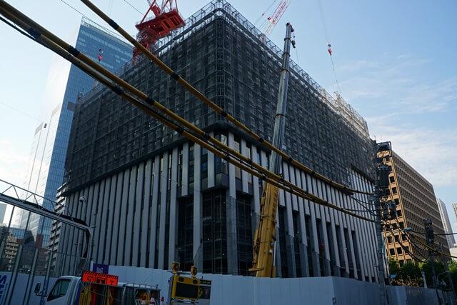 15階87m「気象庁虎ノ門庁舎(仮称)・港区教育センター」 2019.5.11