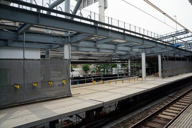 「千駄ヶ谷駅改良工事」 2019.6.1