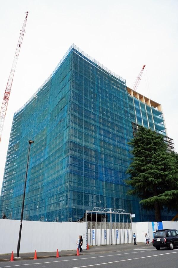 「三井ガーデンホテル神宮外苑の杜プレミア」 2019.6.1
