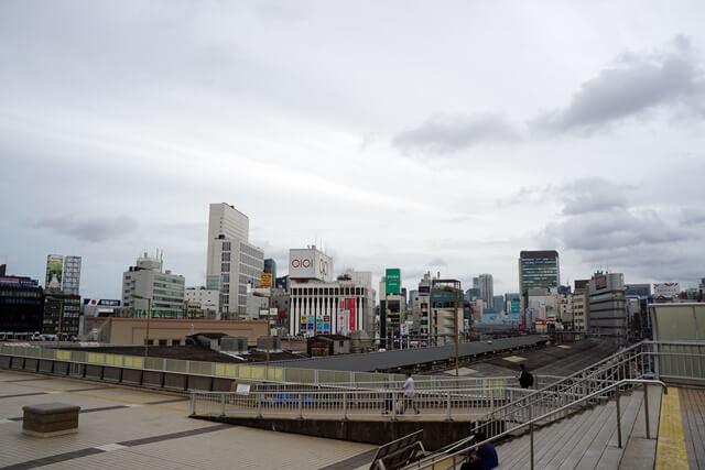 上野駅 パンダ橋 2019.7.6