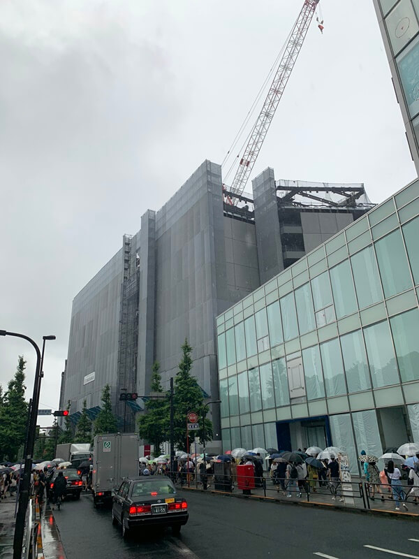 「(仮称)原宿駅前プロジェクト新築工事」 2019.6.22