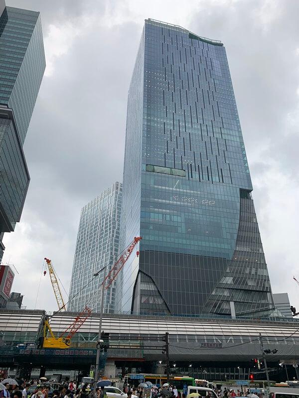渋谷スクランブルスクエア 2019.7.13