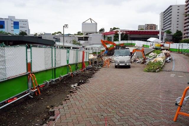 しながわ区民公園改修工事 2019.7.15