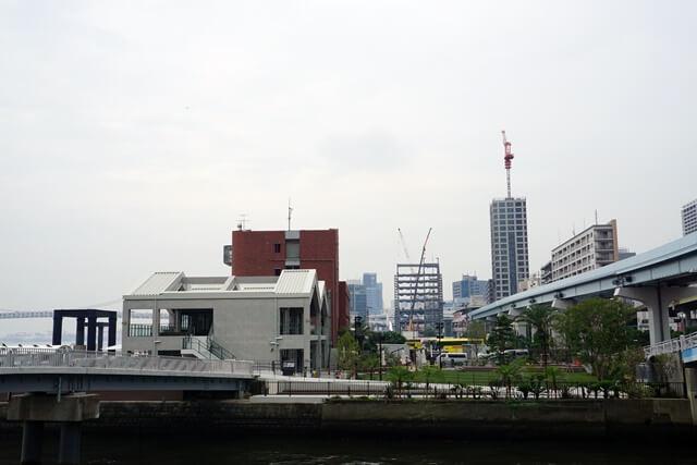 日の出ふ頭小型船ターミナル「Hi-NODE」 2019.7.20