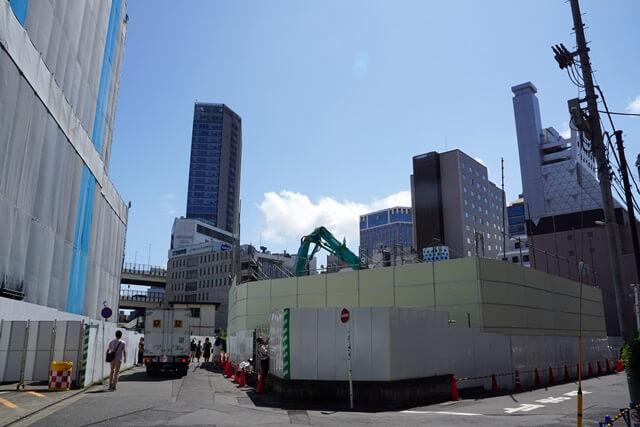 横浜きた西口鶴屋地区第一種市街地再開発事業 2019年7月下旬