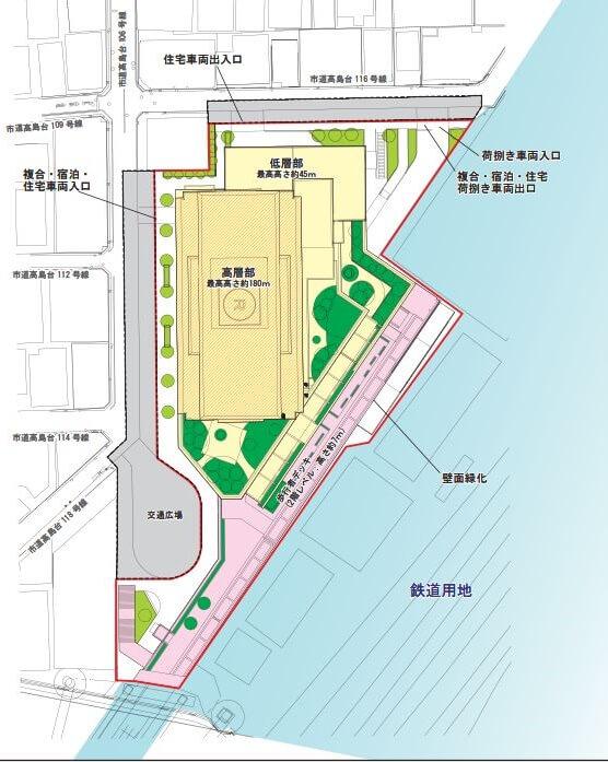 横浜きた西口鶴屋地区第一種市街地再開発事業 (出典:横浜市)