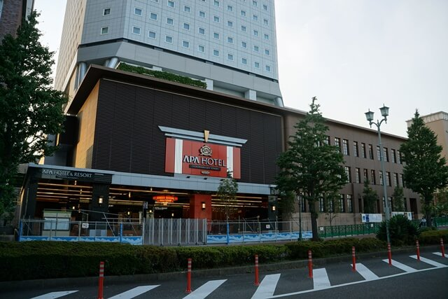 アパホテル&リゾート〈横浜ベイタワー〉 2019.8.10
