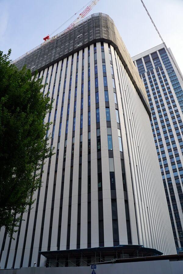 「気象庁虎ノ門庁舎(仮称)・港区教育センター」 2019.8.24