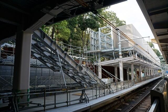 JR原宿駅改良工事 2019.8.31
