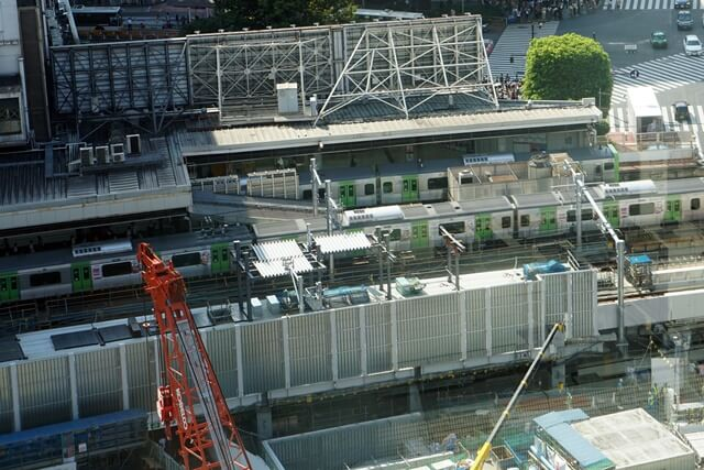 渋谷駅埼京線ホーム移設工事 2019.9.7