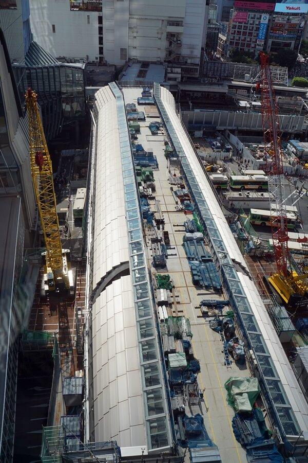「銀座線渋谷駅移設工事」2019.9.7