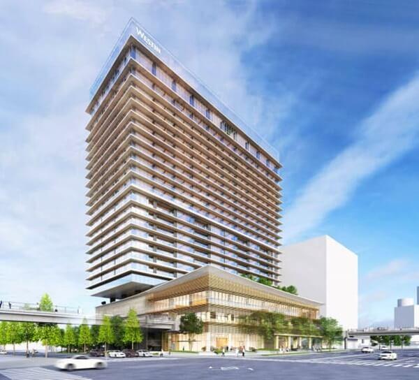 ウェスティンホテル横浜 (出典:日経新聞)