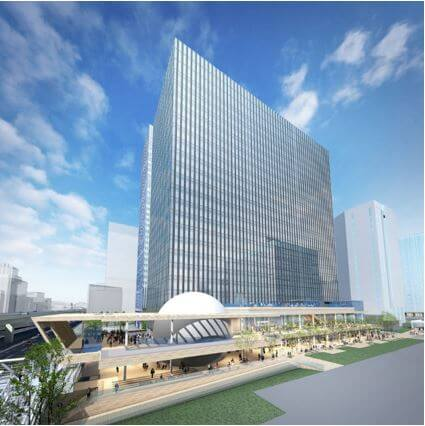 「横濱ゲートタワー」 イメージ図(出典:鹿島建設)