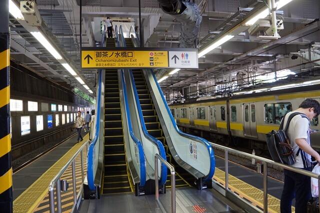 「御茶ノ水駅改良工事」 2019年8月中旬