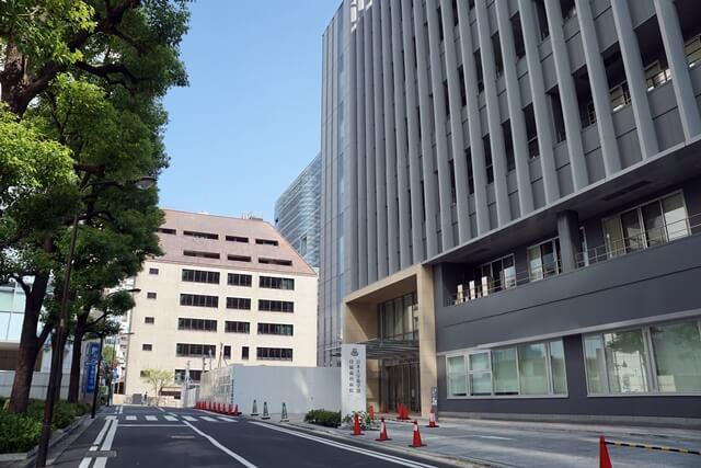 「日本大学歯学部新校舎」 2019年8月中旬