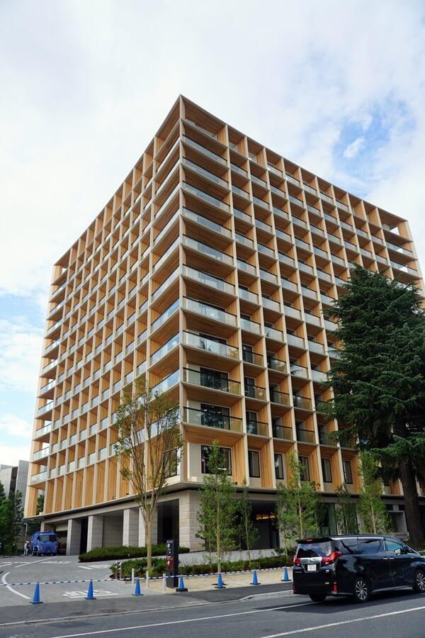 「三井ガーデンホテル神宮外苑の杜プレミア」 2019年8月下旬