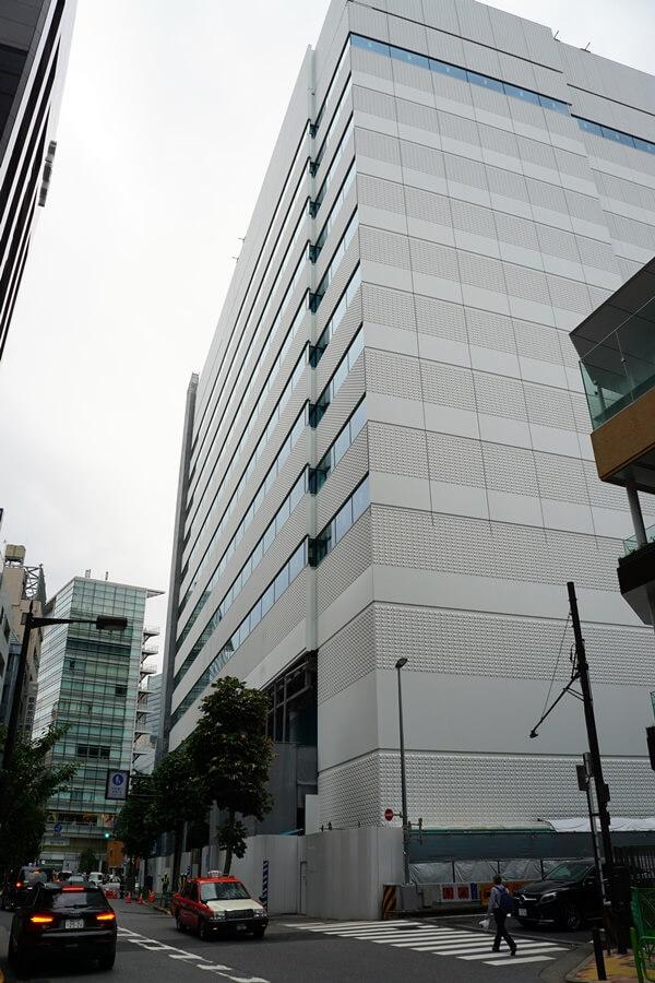 コナミクリエイティブセンター銀座新築工事 2019.9.28