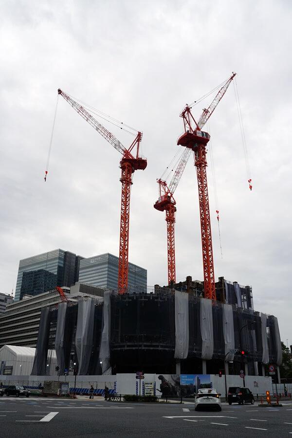 「大手町二丁目常盤橋地区第一種市街地再開発事業A棟」 2019.9.28