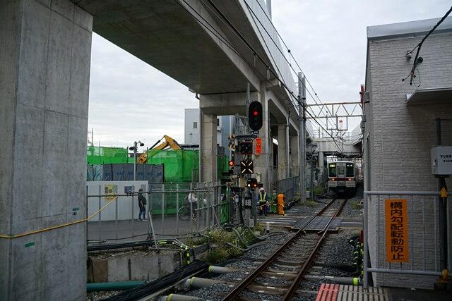 「竹ノ塚駅付近連続立体交差事業」 2019.10.20