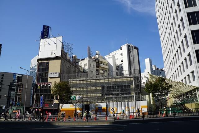 銀座線外苑前駅 2019.11.2