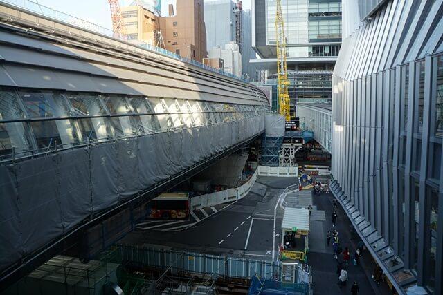 「銀座線渋谷駅移設工事」 2019.11.2