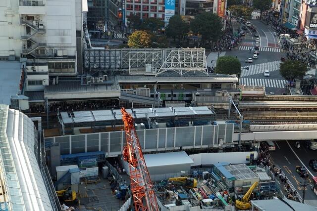 埼京線渋谷駅移設工事 2019.11.2