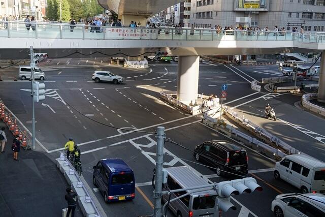 渋谷駅東口交差点 2019.11.2