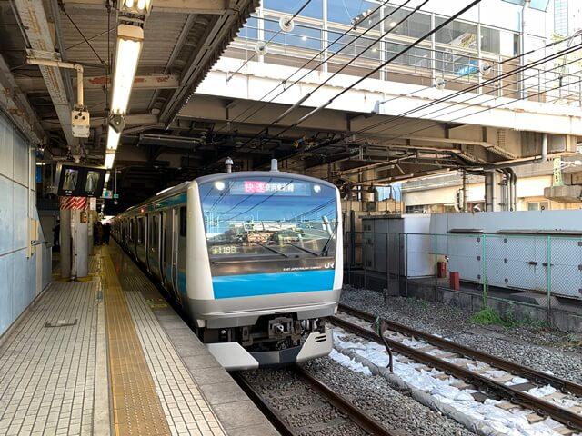 京浜東北線 2019.11.15
