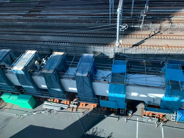 浜松町駅付近 2019年11月
