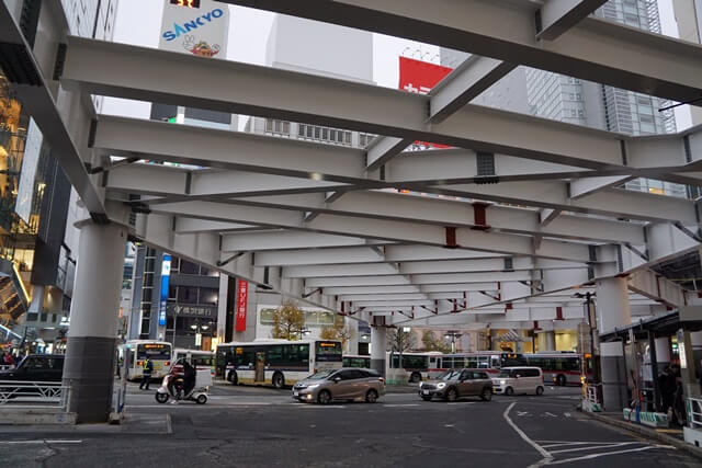 渋谷駅西口 2019.12.7