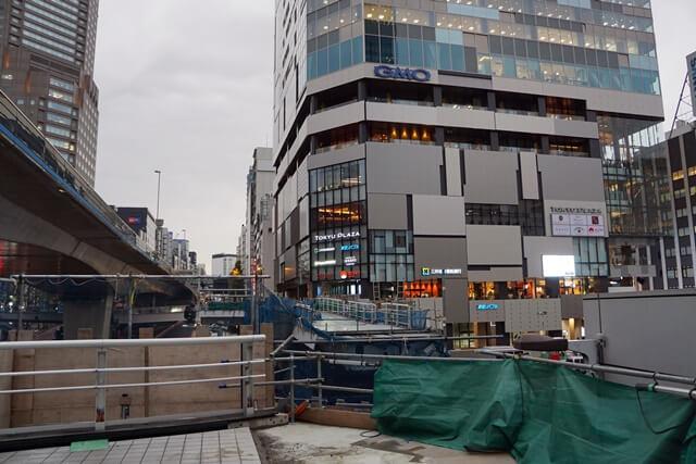 「渋谷駅西口歩道橋架け替え工事」 2019.12.7