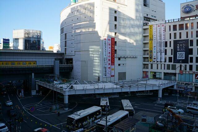 渋谷駅西口交通広場 2019.12.27