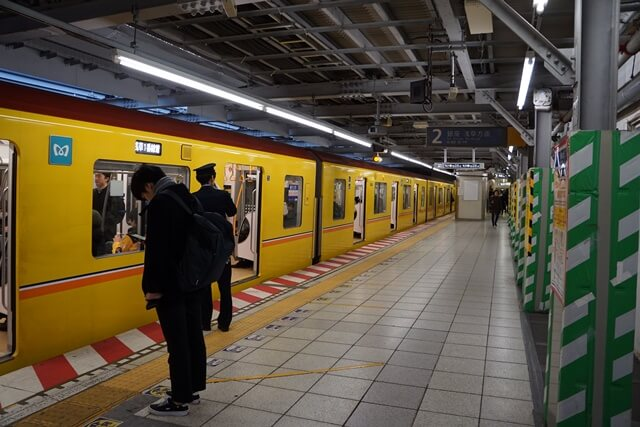 「銀座線渋谷駅移設工事」 2019.12.27