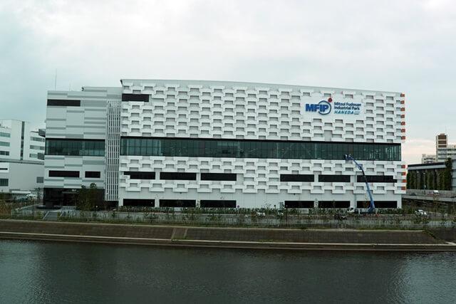 三井不動産インダストリアルパーク羽田(MFIP羽田) 2019年9月中旬