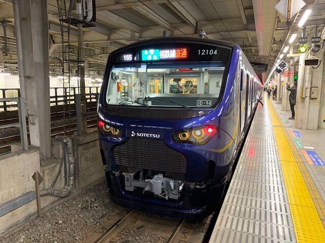 相鉄線 12000系 2019.11.30