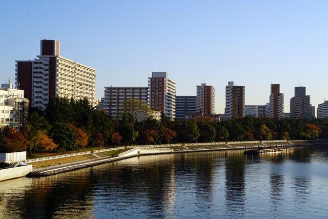 京浜運河護岸工事 2019年12月上旬