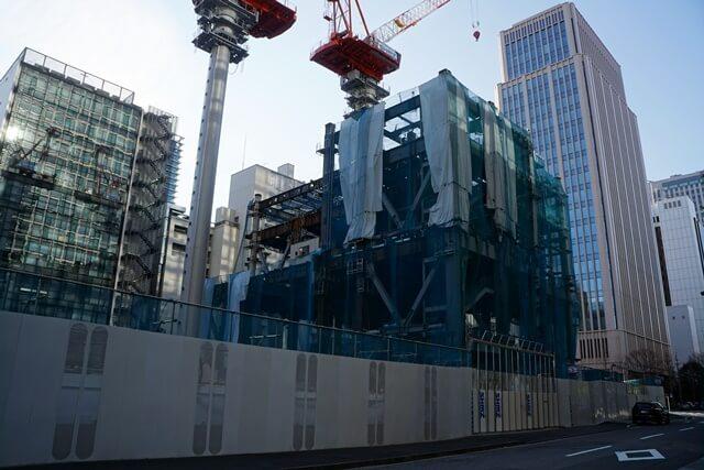 「新橋田村町地区市街地再開発事業」 2020.1.19