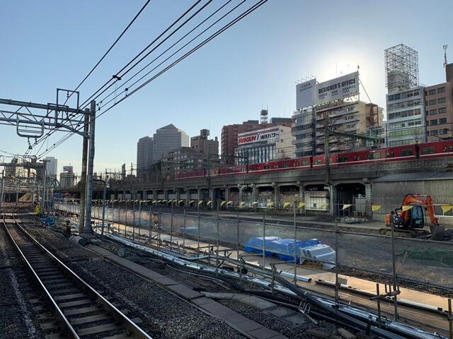 品川駅 2020.1.11