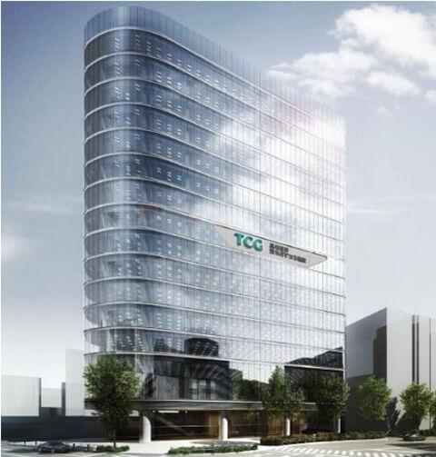 TCG ビル新築計画 (出典:高松コンストラクショングループ)