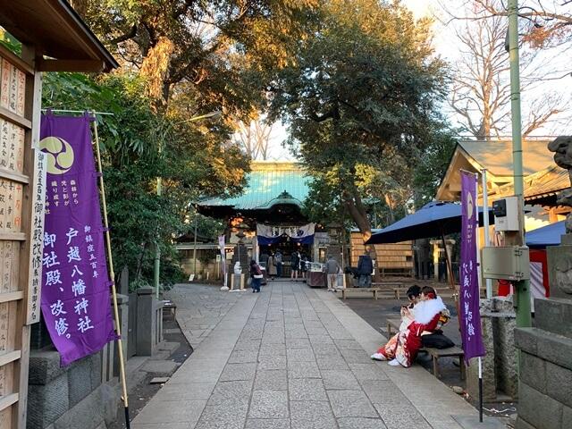 戸越八幡神社 2020.1.13