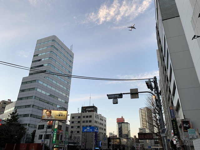 羽田空港の新飛行経路 2020.2.2