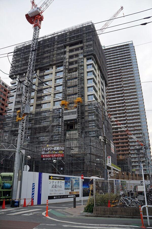 シティタワー武蔵小山 2020年1月下旬