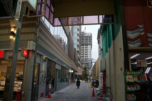 パークシティ武蔵小山 2020年1月下旬
