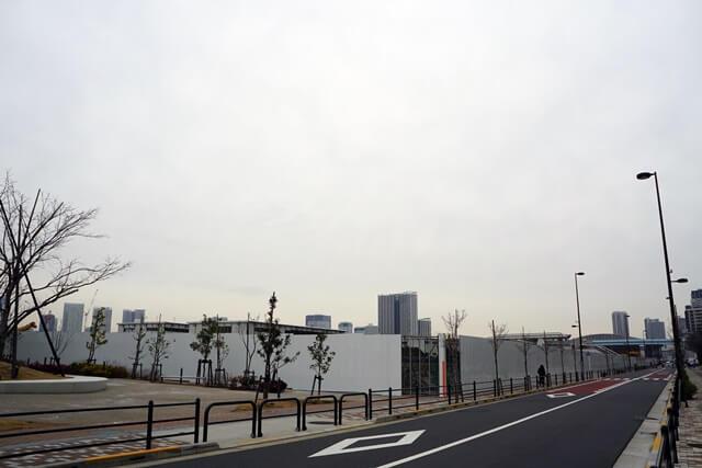 江東区立有明西学園 2020年1月下旬