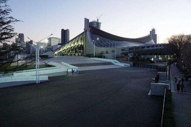 国立代々木競技場第一体育館 2020.2.23
